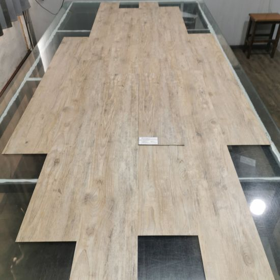 Commercial 8mm Thickness Laminate Flooring Technics WPC Indoor Flooring pictures & photos