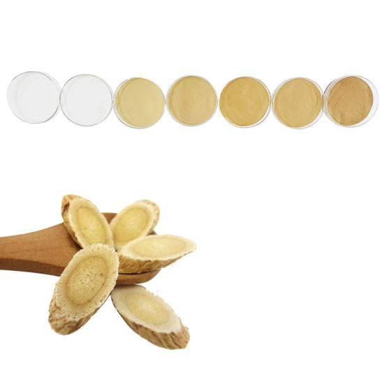 Brown Yellow to White Powder Astragalus Extract Powder Bge Increase Energy and Endurance Astragalosides