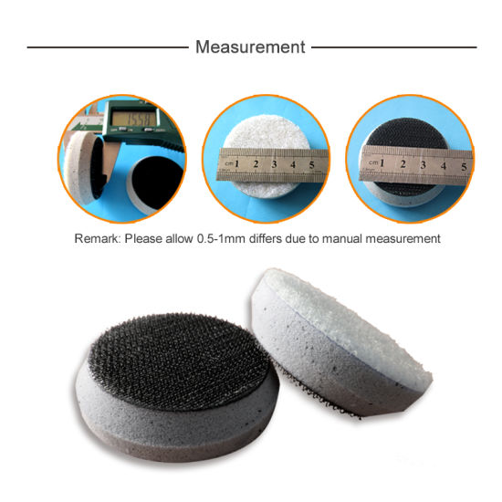 2 Inch Soft Interface Cushion Pad Hook And Loop Foam Protect Sanding Disc 2 Pack