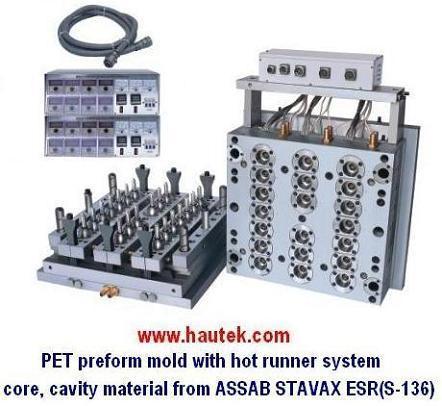 Pet Preform Mold for Bottle Production