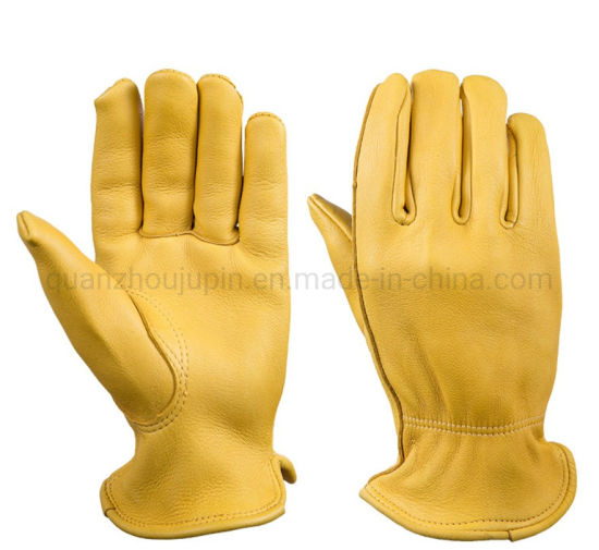 OEM Buckskin Soft Comfortable High Quality Warm Gloves