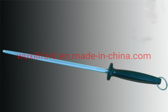 """Factory Price 8"""" Honing Rod Carbon Steel Kitchen Knife Sharpening"""