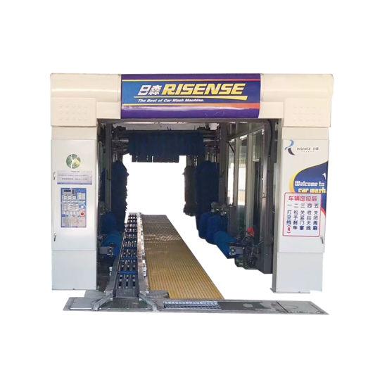 Qingdao Risense Rollover Car Washing Tunnel Car Washing