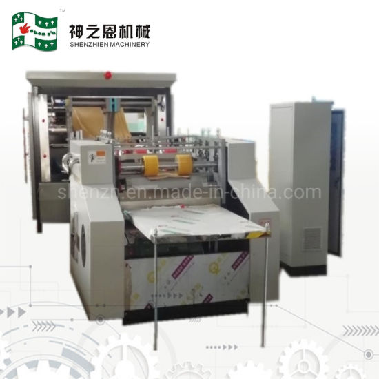 Automatic Paper Bag Making Machine for Store and Transport