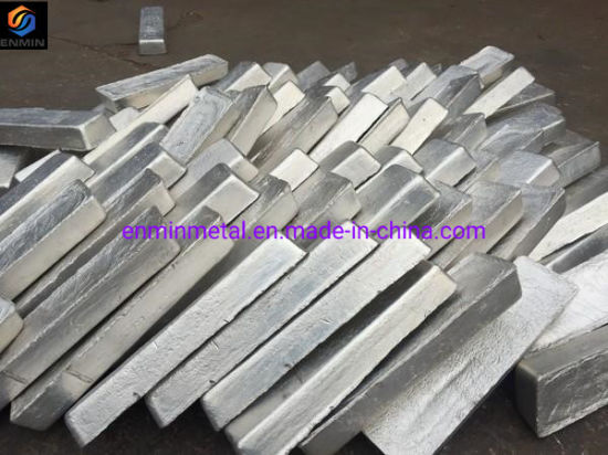 Manufacturing Mg 99.98% High Purity Magnesium Ingot Large Stock