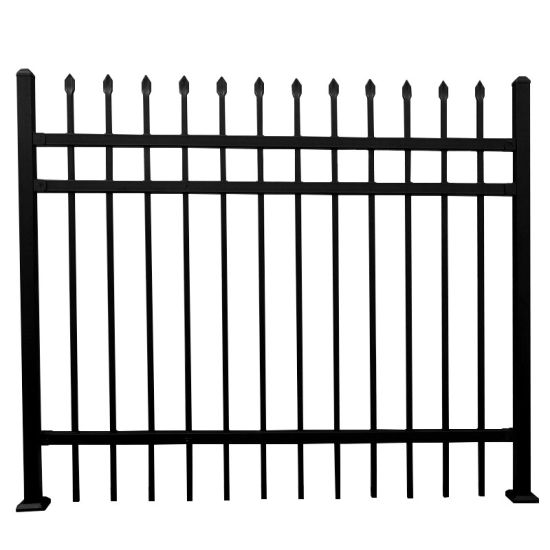 Wholesale Easily Installed Metal Steel PVC Coated Iron Fencing