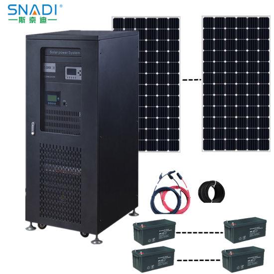 10kw/15kw/20kw/40kw Three-Phase Hybrid Solar Power Inverter System