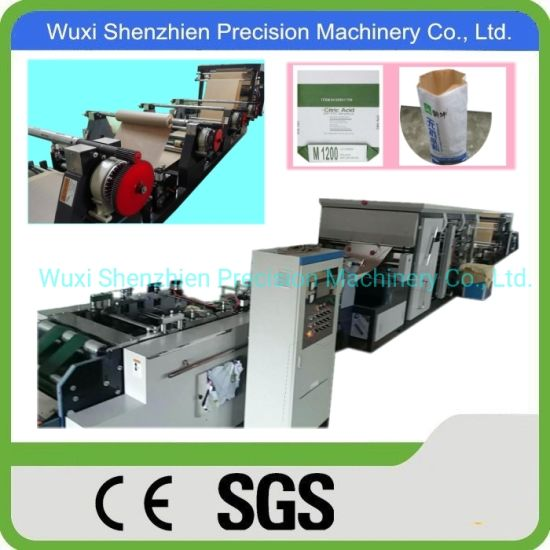 Cement Sack Making Machine with Paper Filling Valve Port