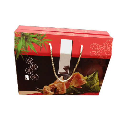 Wholesale Cheap Luxury Cooler Storage Corrugated Paper Carton Transport Packaging Zongzi Boxes