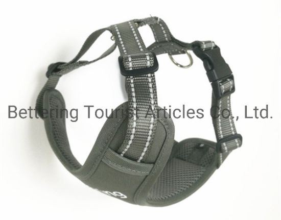 Customized Polyester Outdoor Safety Dog Harness