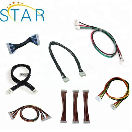 jst wiring harness adapt cable assembly for automobile