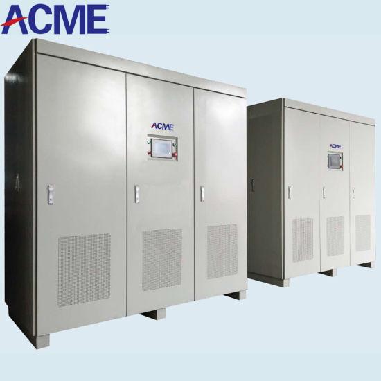 50Hz 60Hz 400Hz 3 Phase 380V 400V 415V Large Power 100kVA 200kVA 300kVA 600kVA 800kVA 1000kVA 2000kVA AC Variable Static Frequency Converter Power Source