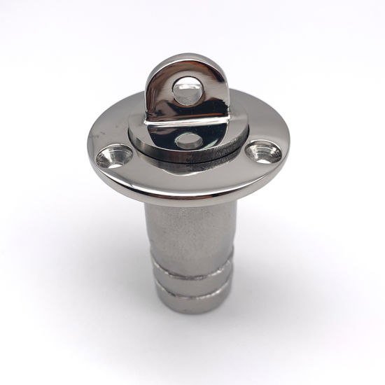 Stainless Steel 316 Drain Plug Scupper Plug Cabin Outfall Valve for Marine Accessories