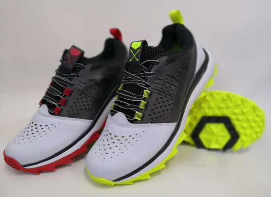 New Designed Fashion Golf Cleat Sport Shoes