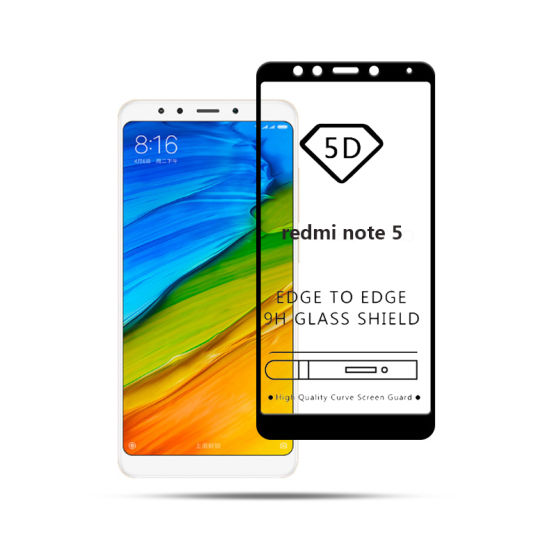 3D Full Cover Tempered Glass Warna Screen Protector for XiaomiRedmi Note 3 / Note 3 Pro