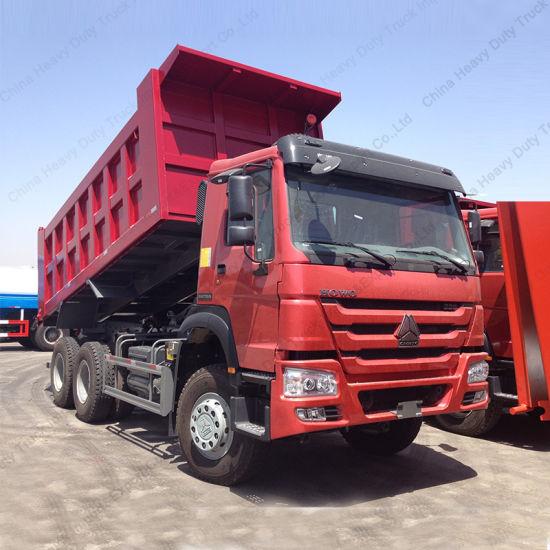 Zf8118 336HP Sinotruk HOWO 6X4 30 Tons Dump/Tipper Truck