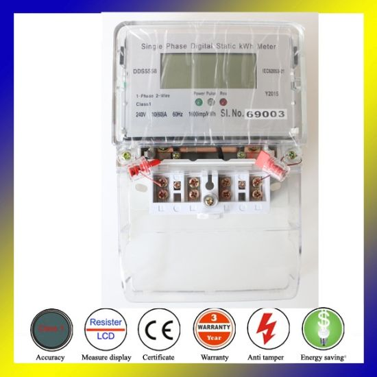 Good Material Dds5558 Dual Source Solar Power Meter WiFi pictures & photos