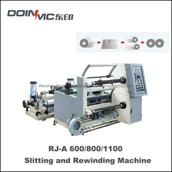 Golden Al Foil Slitting and Rewinding Machine for Plastic