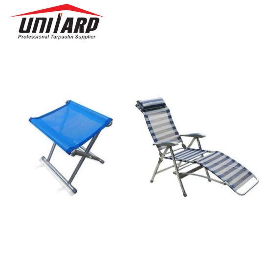 Pvc Flexible Outdoor Furniture Mesh Waterproof Pool Chair Fabric