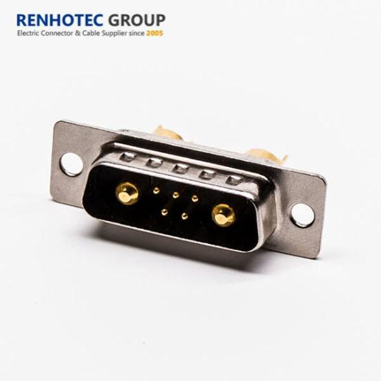 Standard High Current Density Power D Sub dB 7W2 Female Connector