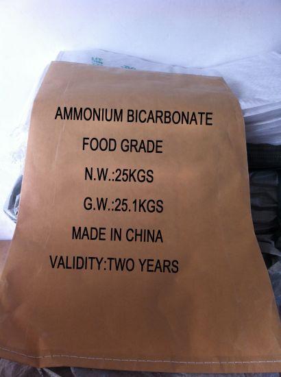 High Quality Ammonium Bicarbonate Food Grade/Industry Grade Best Price