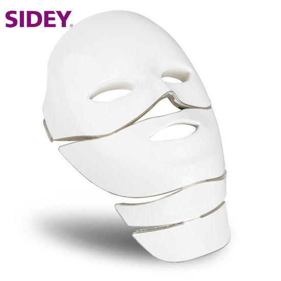 LED Mask for Face Neck Micro-Current Anti Wrinkle Acne Removal Skin Rejuvenation Electric Facial Beauty Machine