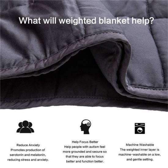 Great for Anxiety Austism and Sensory Processing Disorder Weighted Blanket pictures & photos