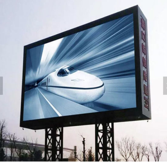 High Brightness P10 (P6 P8mm) SMD Full Color Outdoor Advertising LED Screen