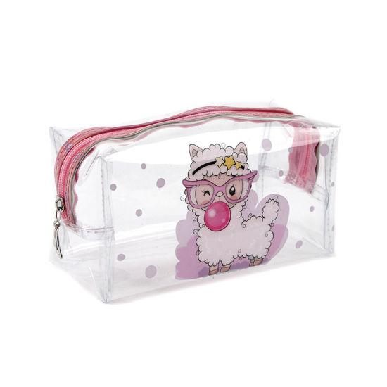 PVC Transparent Make up Bag Large Capacity Cosmetic Bag