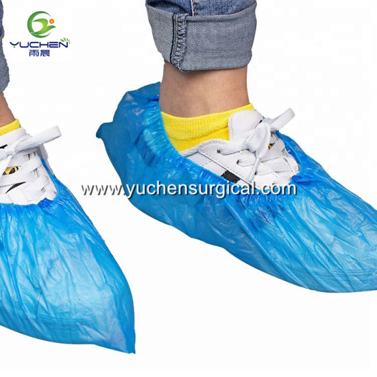 Hot Sale Best Price Plastic Cheap Disposable PE Shoe Cover