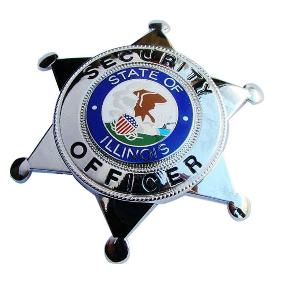 Custom High Quantity Police Badge Breast Use for Souvenir (242)