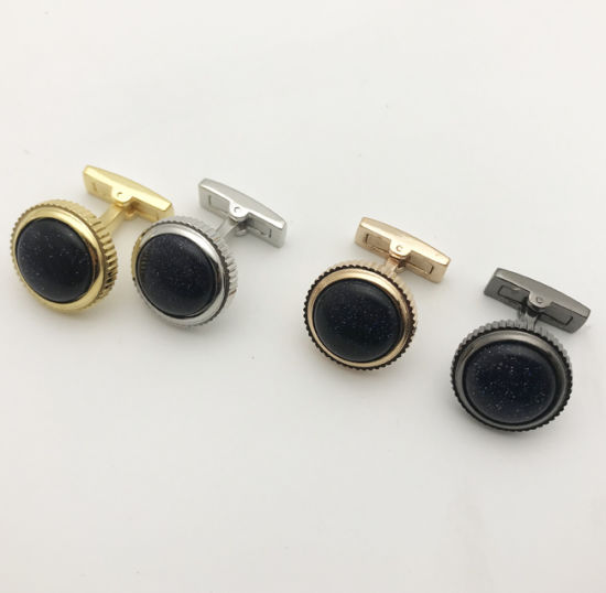 Metal Knot Brass Gift Box Cufflinks