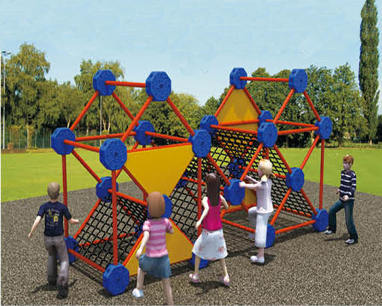 Climbing Playground Children Amusement Park Playground Equipment Hf-18905 pictures & photos