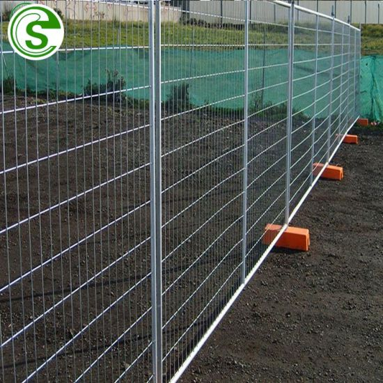 Manufacturers Industry Building Site Powder Coating Long Life Temporary Fence