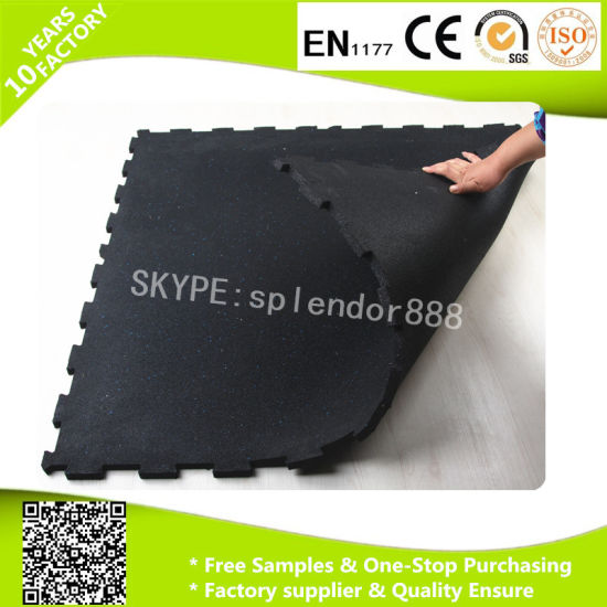 Colorful Anti Slips Rubber Floor Mat for Gym Use pictures & photos