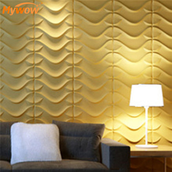 MyWow Wholesale Wall Board Sheet 3D PVC Wall Panel