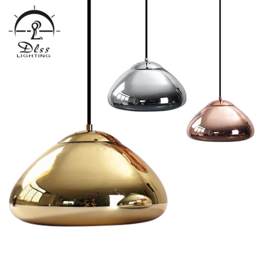 Modern Project Lamp Glass Iron Material Chrom Copper Gold Colors Modern Lighting