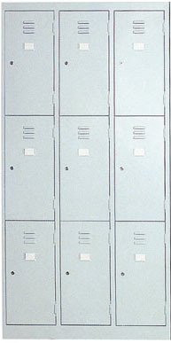Office 9 Doors Steel Cabinet for Sale (ST-04A)