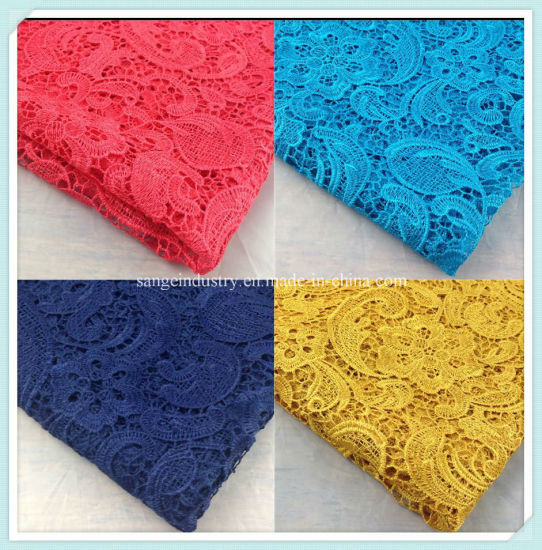 Fashion Chemical Lace Fabric for Hometextile