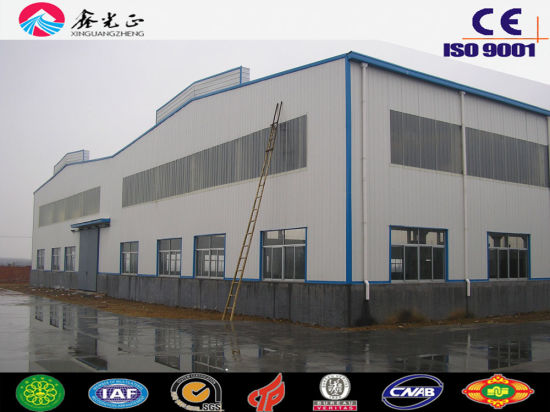 Steel Structure Workshop/High Quality Steel Structure Warehouse (SSW-32) pictures & photos