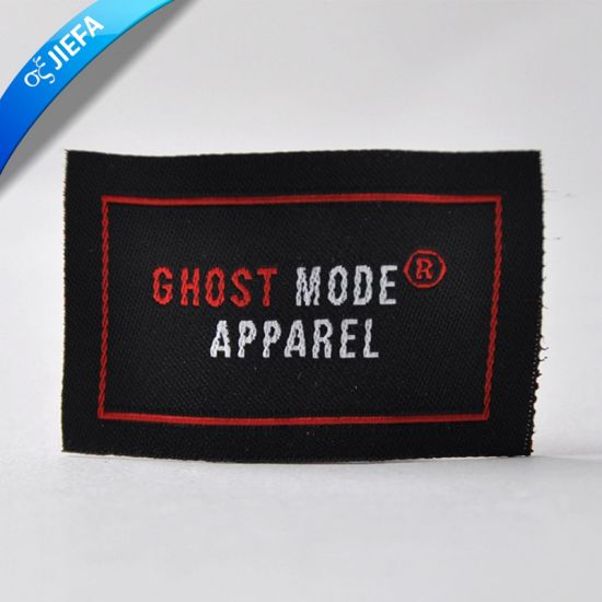 High Density Woven Label for Garment pictures & photos