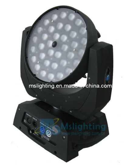 36*15W RGBWA 5in1 LED Zoom Moving Head Wash Light