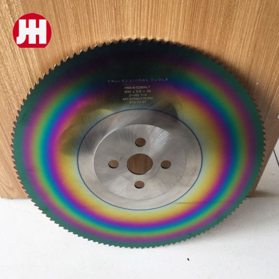 Kinkelder HSS Tools M35 M42 Rainbow Circular Cutting Saw Blade