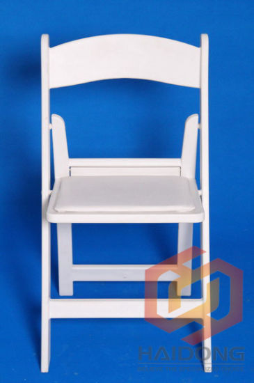 Wholesale Plastic Foldable Paded Hotel Chair