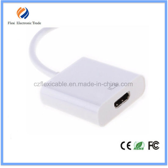 China Wholesale Premium Mini Dp to HDMI Cable for MacBook pictures & photos