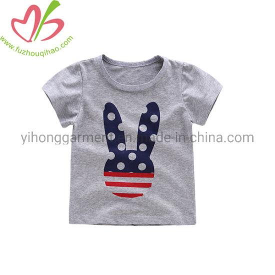 Custom Boy Football Breathy Soft T Shirts Kid Clothes