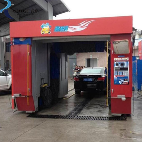 Rollover Car Wash Equipment with Five Brushes Best Price
