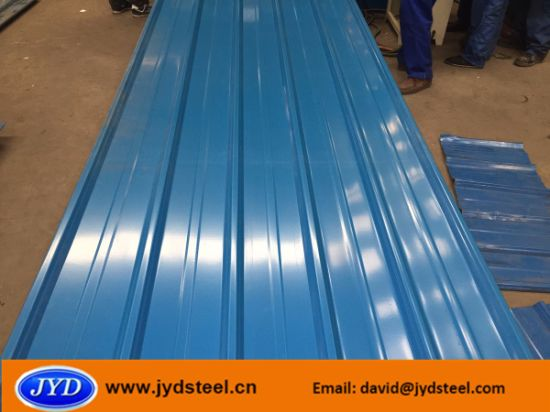 Corrugated Pre-Painted Galvanized Steel Sheet / PPGI pictures & photos