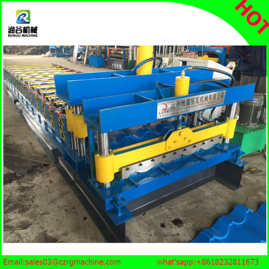 Dx Steel Panel Roll Forming Machine pictures & photos