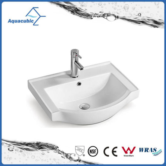 Ceramic Cabinet Basin and Vanity Top Sink (ACB2055) pictures & photos